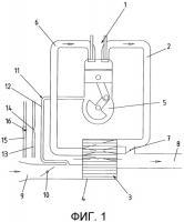 Патент 2496029 Газодинамический волновой обменник давления