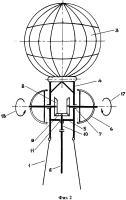 Патент 2638237 Наземно-генераторный ветродвигатель