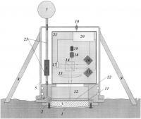 Патент 2653099 Лазерно-интерференционный донный сейсмограф