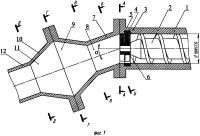 Патент 2641798 Способ формования на одношнековых прессах длинномерных стержневых изделий с максимальной площадью сечения, равной или большей площади сечения шнекового тракта, и устройство для его осуществления