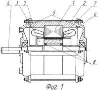 Патент 2396672 Асинхронный двигатель с полым ротором со сторонним возбуждением
