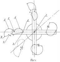Патент 2516085 Роторный вертикальный ветродвигатель
