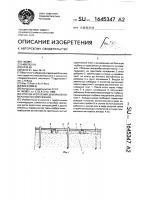 Патент 1645347 Способ крепления земляной поверхности сооружения
