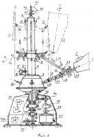 Патент 2622455 Ортогональный ветродвигатель с наклонными складными лопастями