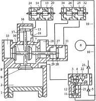 Патент 2615294 Способ дополнительного наполнения цилиндра двигателя внутреннего сгорания воздухом или топливной смесью перекрытием фаз газораспределения системой привода двухклапанного газораспределителя с зарядкой пневмоаккумулятора системы привода воздухом из атмосферы