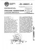 Патент 1060377 Устройство для сборки и сварки кожухов вентиляторов