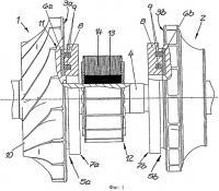 Патент 2498079 Турбинная установка