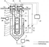 Патент 2377057 Установка для очистки газа от сероводорода