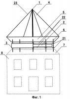 Патент 2520779 Автоматизированный архитектурно-тектонический ветряк