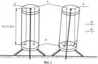 Патент 2569076 Способ определения деформаций земной поверхности при отсутствии взаимной видимости между наблюдаемыми пунктами