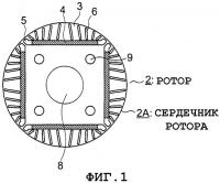 Патент 2313880 Двигатель с постоянными магнитами
