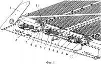 Патент 2660252 Устройство для регулировки зазора между жалюзи решёт очистки зерноуборочного комбайна