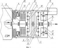Патент 2606652 Соединительно-трансформирующее устройство комбинированной энергетической установки транспортного средства