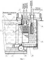 Патент 2262068 Способ ликвидации заряда твердого ракетного топлива (трт)