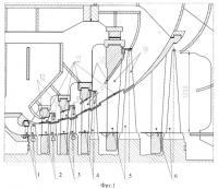 Патент 2372491 Двухъярусный цилиндр низкого давления конденсационной паровой турбины