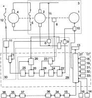 Патент 2658229 Микропроцессорная система регулирования тягового генератора тепловоза