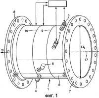 Патент 2330247 Способ калибрования ультразвукового расходомера и настроечный датчик (варианты)