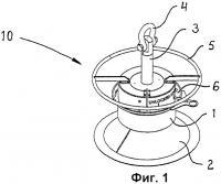 Патент 2409499 Легкое подъемное приспособление для подводного оборудования