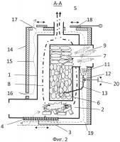 Патент 2598274 Печь для бани