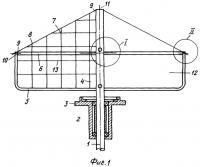Патент 2383776 Ветроприемное устройство для судовой ветроэнергетической установки