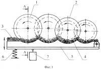 Патент 2375508 Устройство для утонения слоя стеблей лубяных культур