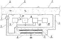 Патент 2509308 Устройство контроля объемного электрического заряда и постоянной времени его релаксации в потоке диэлектрической жидкости