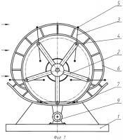 Патент 2467200 Преобразователь энергии потока