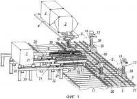 Патент 2508214 Система и способ выгрузки и погрузки грузосодержащих модулей из открытых грузовых платформ и на платформы