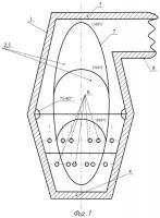 Патент 2400668 Топка для сжигания газомазутного топлива