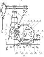 Патент 2381383 Способ добычи нефти с использованием штангового глубинного насоса и станок-качалка для его осуществления (варианты)
