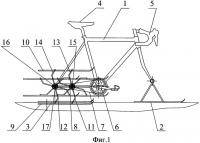 Патент 2531776 Транспортное средство для движения по снегу
