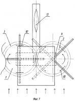 Патент 2569469 Роторный ветродвигатель