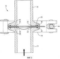 Патент 2524587 Устройство сброса давления, имеющее опорный элемент с углубленными областями