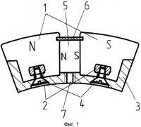 Патент 2375807 Вентильный электродвигатель с постоянными магнитами
