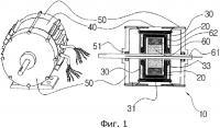 Патент 2550506 Сегментный двигатель с якорем