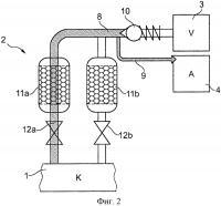 Патент 2622507 Способ и устройство для системы вспомогательного воздухоснабжения рельсового транспортного средства