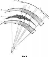 Патент 2659319 Неподвижный концентратор солнечного излучения с оптическим способом наведения