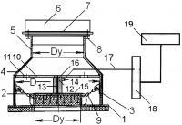 Патент 2620182 Взрывозащитное устройство кочетова с системой оповещения начальной фазы возникновения чрезвычайной ситуации