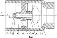 Патент 2332606 Автоматический термозапорный клапан