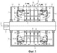 Патент 2498480 Электрическая машина с радиальными металлическими перегородками для направления охлаждающего воздуха