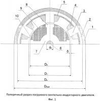 Патент 2465708 Погружной вентильно-индукторный электродвигатель открытого исполнения