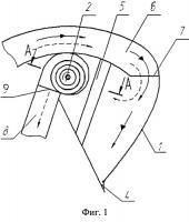 Патент 2504140 Камера приема легких примесей сепаратора зерновой смеси
