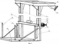 Патент 2577933 Горизонтальная платформа для перемещения автомобилей в многоэтажных гаражных боксах