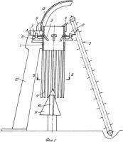 Патент 2363144 Разрезчик кормовых рулонов