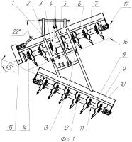 Патент 2657738 Орудие почвообрабатывающее