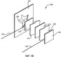 Патент 2395925 Маломощный реконфигурируемый дисплей для мобильных устройств