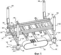 Патент 2264975 Способ и устройство для извлечения и установки узла теплообменника