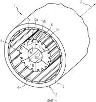 Патент 2516367 Статор возбуждаемой постоянными магнитами вращающейся электрической машины