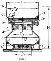 Патент 2442052 Взрывозащитный клапан для технологического оборудования