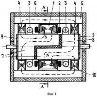 Патент 2516286 Синхронный микродвигатель с электромагнитным униполярным возбуждением